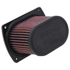 Moto K&N Filters Long-life Filter Length: 146mm, Width: 90mm, Height: 110mm Air Filter HY-6507 cheap