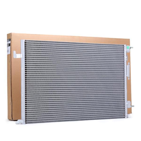 RIDEX: Original Klimakondensator 448C0017 (Kältemittel: R 134a)