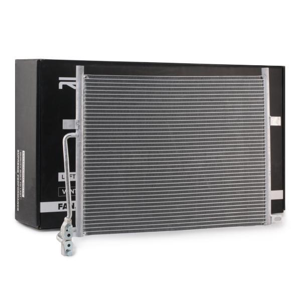 RIDEX: Original Kondensator Klimaanlage 448C0115 (Kältemittel: R 134a)