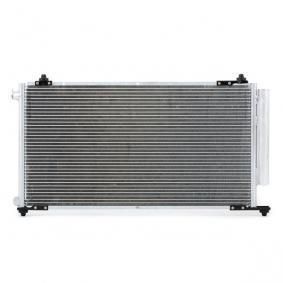 448C0084 Kondensor, klimatanläggning RIDEX Test