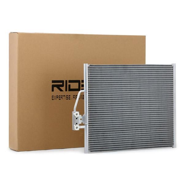 RIDEX: Original Klimakondensator 448C0101 (Kältemittel: R 134a)