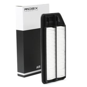 Compre e substitua Filtro de ar RIDEX 8A0201