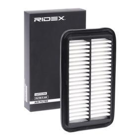 Filtru aer RIDEX 8A0309 cumpărați și înlocuiți