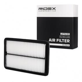 Compre e substitua Filtro de ar RIDEX 8A0237