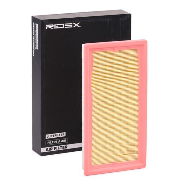 8A0429 RIDEX Umluftfilter Länge: 270mm, Länge: 270mm, Breite: 139mm, Höhe: 29mm Luftfilter 8A0429 günstig kaufen
