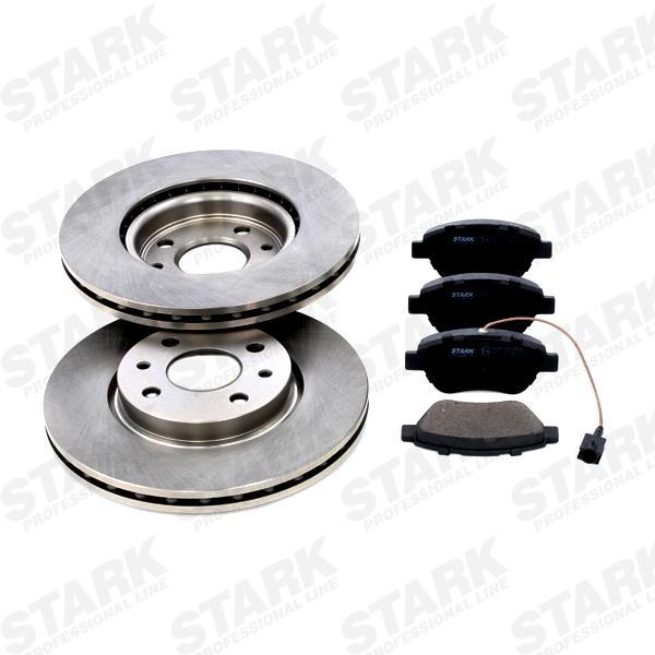 STARK: Original Bremsscheiben und Bremsbeläge SKBK-1090063 (Bremsscheibendicke: 22mm)