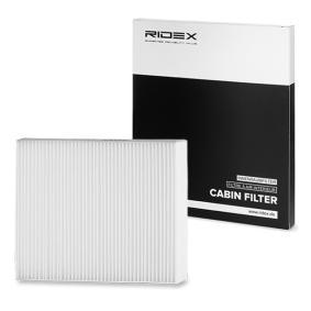 Kupte a vyměňte Filtr, vzduch v interiéru RIDEX 424I0123