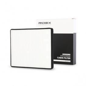 Filtr, wentylacja przestrzeni pasażerskiej RIDEX 424I0112 kupić i wymienić