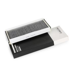Kupte a vyměňte Filtr, vzduch v interiéru RIDEX 424I0256