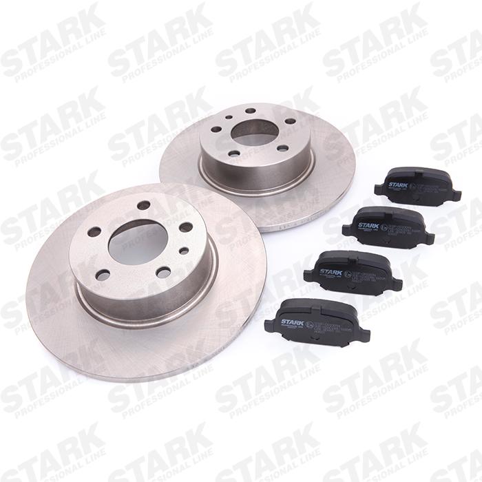 STARK: Original Bremsscheiben und Klötze SKBK-1090088 (Bremsscheibendicke: 10mm)