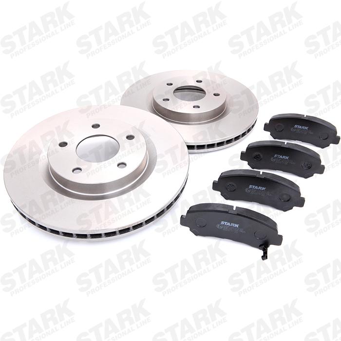STARK: Original Bremsensatz SKBK-1090121 (Bremsscheibendicke: 17, 26mm)