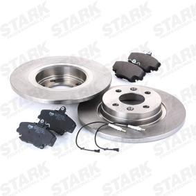 SKBK1090124 Bremsensatz, Scheibenbremse STARK SKBK-1090124 - Große Auswahl - stark reduziert