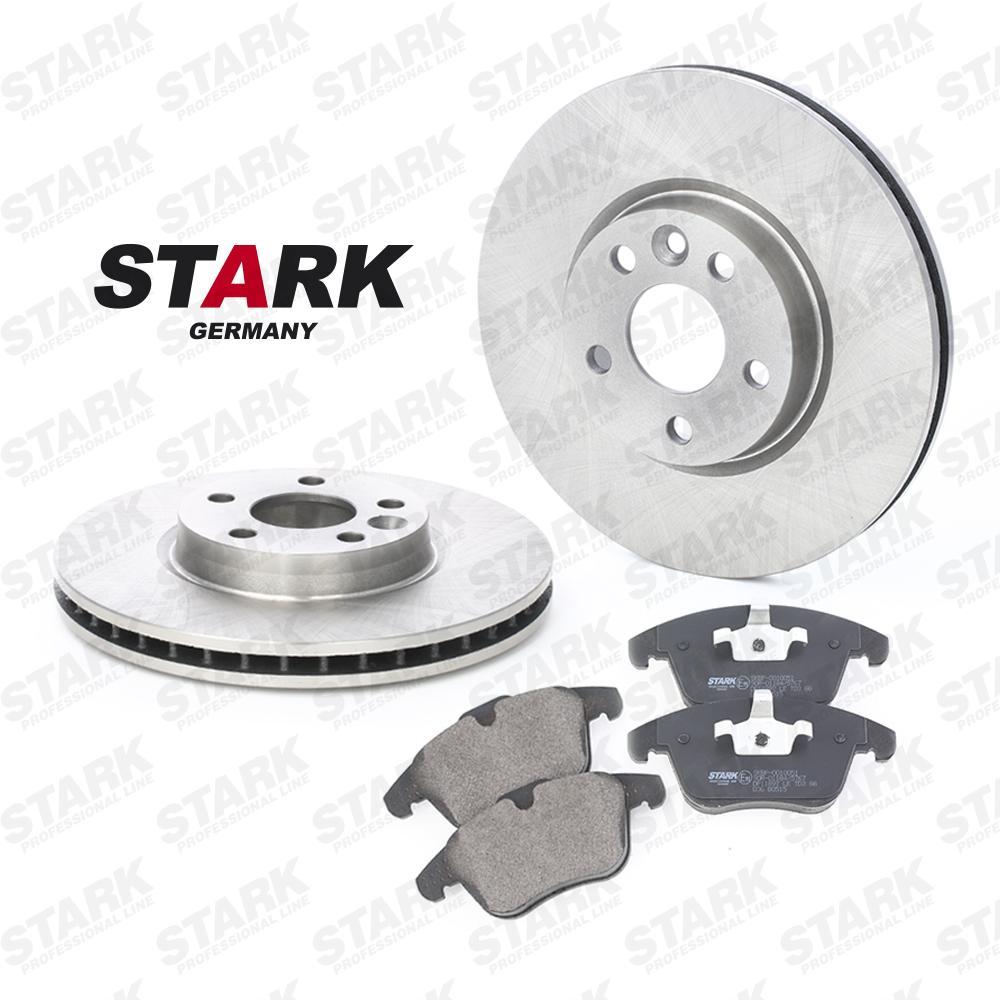 STARK: Original Bremsscheiben und Beläge SKBK-1090139 (Bremsscheibendicke: 28mm)