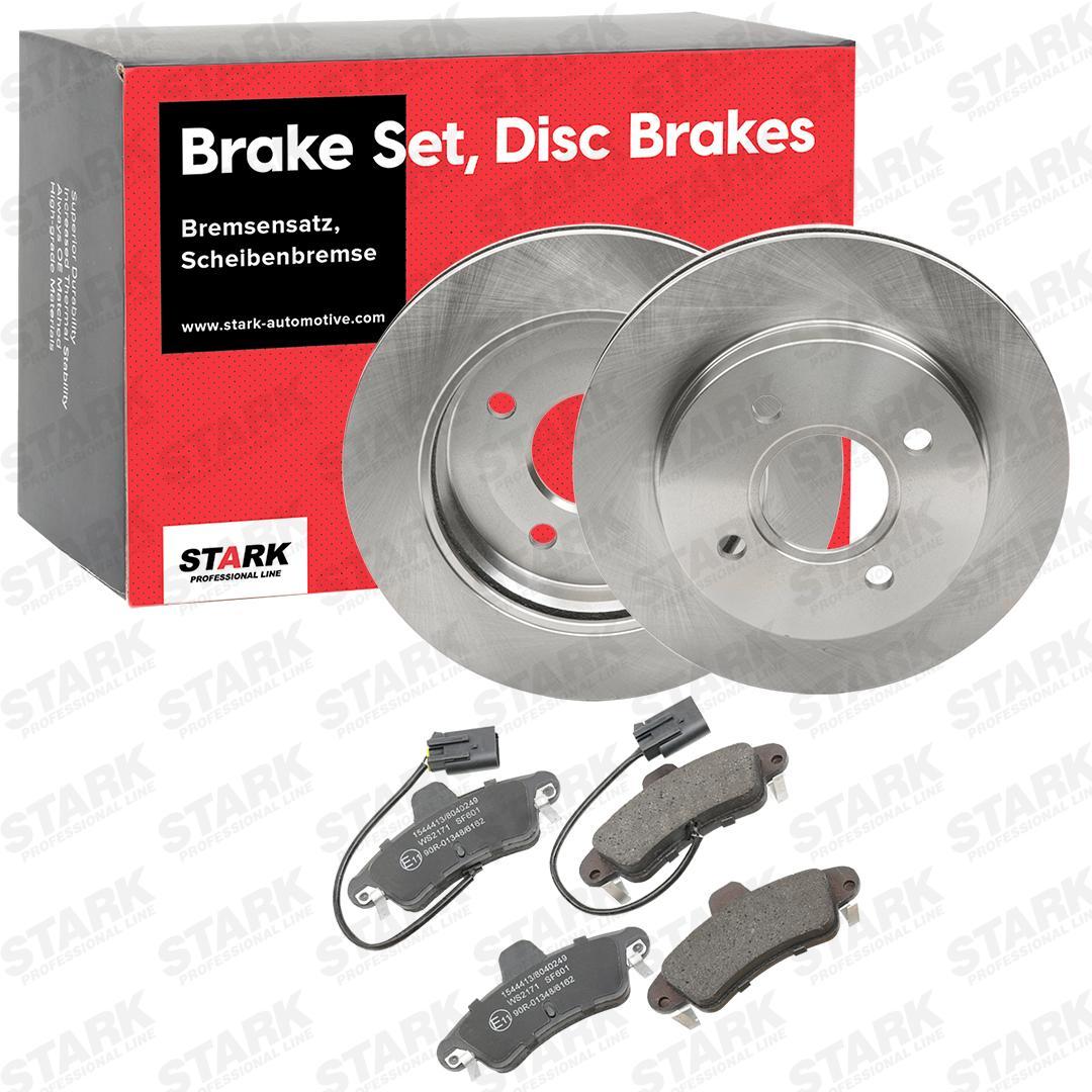 FORD MONDEO 2008 Bremsscheiben und Beläge - Original STARK SKBK-1090148 Bremsscheibendicke: 20mm