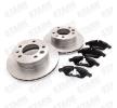 Bremsesæt, skivebremser SKBK-1090158 — nuværrende tilbud på top OE 2D0407617A kvalitetsreservedele