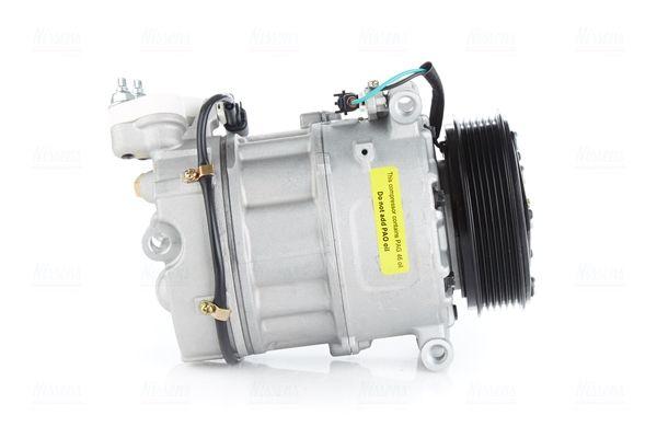 890124 NISSENS PAG 46, Kältemittel: R 134a Riemenscheiben-Ø: 110mm, Anzahl der Rillen: 6 Klimakompressor 890124 günstig kaufen