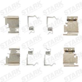 Achetez et remplacez Kit d'accessoires, plaquette de frein à disque SKAK-1120004