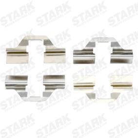 Comprar y reemplazar Kit de accesorios, pastillas de frenos STARK SKAK-1120005