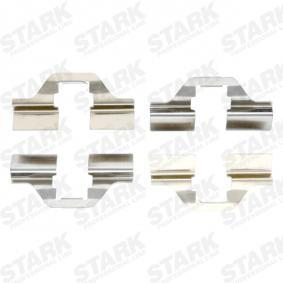 priedų komplektas, diskinių stabdžių trinkelės SKAK-1120005 su puikiu STARK kainos/kokybės santykiu