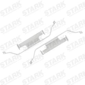 Pērc un aizvieto Piederumu komplekts, Disku bremžu uzlikas STARK SKAK-1120007