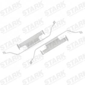 Set accesorii, placute frana STARK SKAK-1120007 cumpărați și înlocuiți