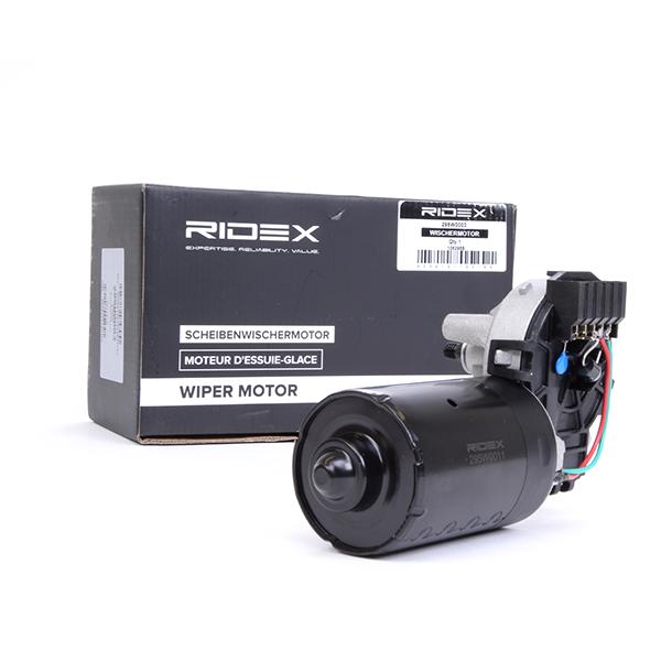 RIDEX: Original Frontscheibenwischermotor 295W0011 (Pol-Anzahl: 5-polig)