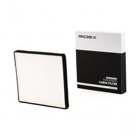 Köp och ersätt Filter, kupéventilation RIDEX 424I0301