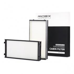 Comprar y reemplazar Filtro, aire habitáculo RIDEX 424I0178