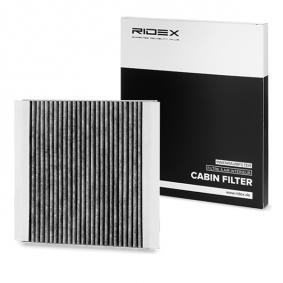 buy and replace Filter, interior air RIDEX 424I0229