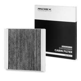 Comprar y reemplazar Filtro, aire habitáculo RIDEX 424I0229