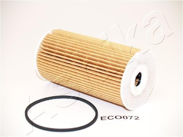 Achat de 10-ECO072 ASHIKA Cartouche filtrante Diamètre intérieur: 22mm, Diamètre intérieur 2: 17mm, Ø: 65mm, Longueur: 124mm, Longueur: 124mm Filtre à huile 10-ECO072 pas chères