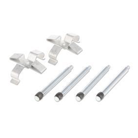 Comprar y reemplazar Kit de accesorios, pastillas de frenos RIDEX 1164A0012