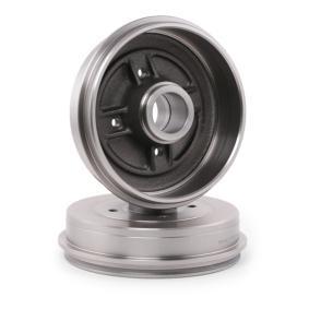 123B0030 RIDEX mit Radnabe, ohne Radbefestigungsbolzen, ohne Radlager, 234mm, Hinterachse Trommel-Ø: 203,3 Bremstrommel 123B0030 günstig kaufen