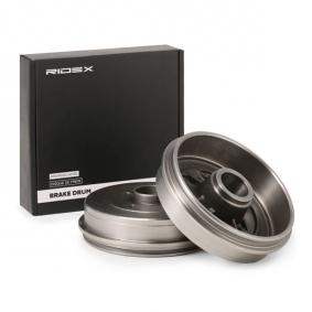 123B0030 Bremstrommel RIDEX - Markenprodukte billig