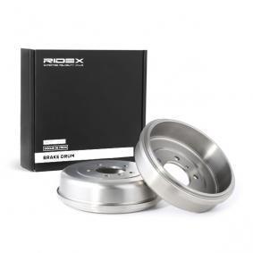 Osta 123B0075 RIDEX Tagasild Piduritrummel 123B0075 madala hinnaga