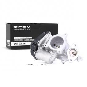 1145E0006 RIDEX elektrisch, mit Dichtung Pol-Anzahl: 6-polig AGR-Ventil 1145E0006 günstig kaufen