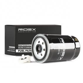 9F0016 RIDEX Höhe: 155mm Kraftstofffilter 9F0016 kaufen