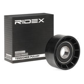Køb 312D0009 RIDEX Ø: 60,2mm Medløberhjul, multi-V-rem 312D0009 billige
