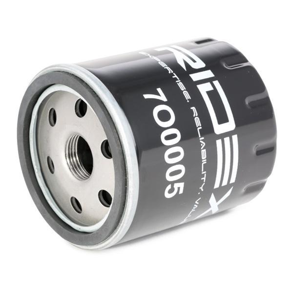 7O0005 Filtre à huile RIDEX - Produits de marque bon marché