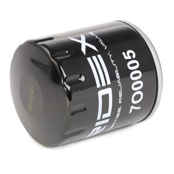 7O0005 Φίλτρο λαδιού RIDEX - Φθηνά επώνυμα προϊόντα