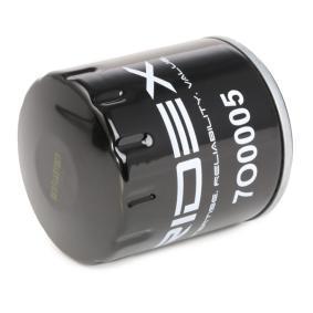 7O0005 Alyvos filtras RIDEX - Pigus kokybiški produktai