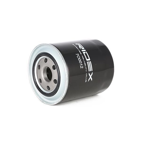 7O0012 Oliefilter RIDEX - Voordelige producten van merken.