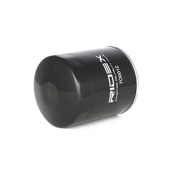 7O0012 Oliefilter RIDEX - Køb til discount priser
