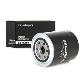 Osta 7O0012 RIDEX Ø: 68mm, Kõrgus: 87mm Õlifilter 7O0012 madala hinnaga