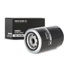 7O0025 RIDEX com uma válvula de retenção Diâmetro interior 2: 57mm, Diâmetro interior 2: 65mm, Ø: 80mm, Altura: 75mm Filtro de óleo 7O0025 comprar económica