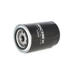 7O0025 Filtro de óleo RIDEX 7O0025 Enorme selecção - fortemente reduzidos