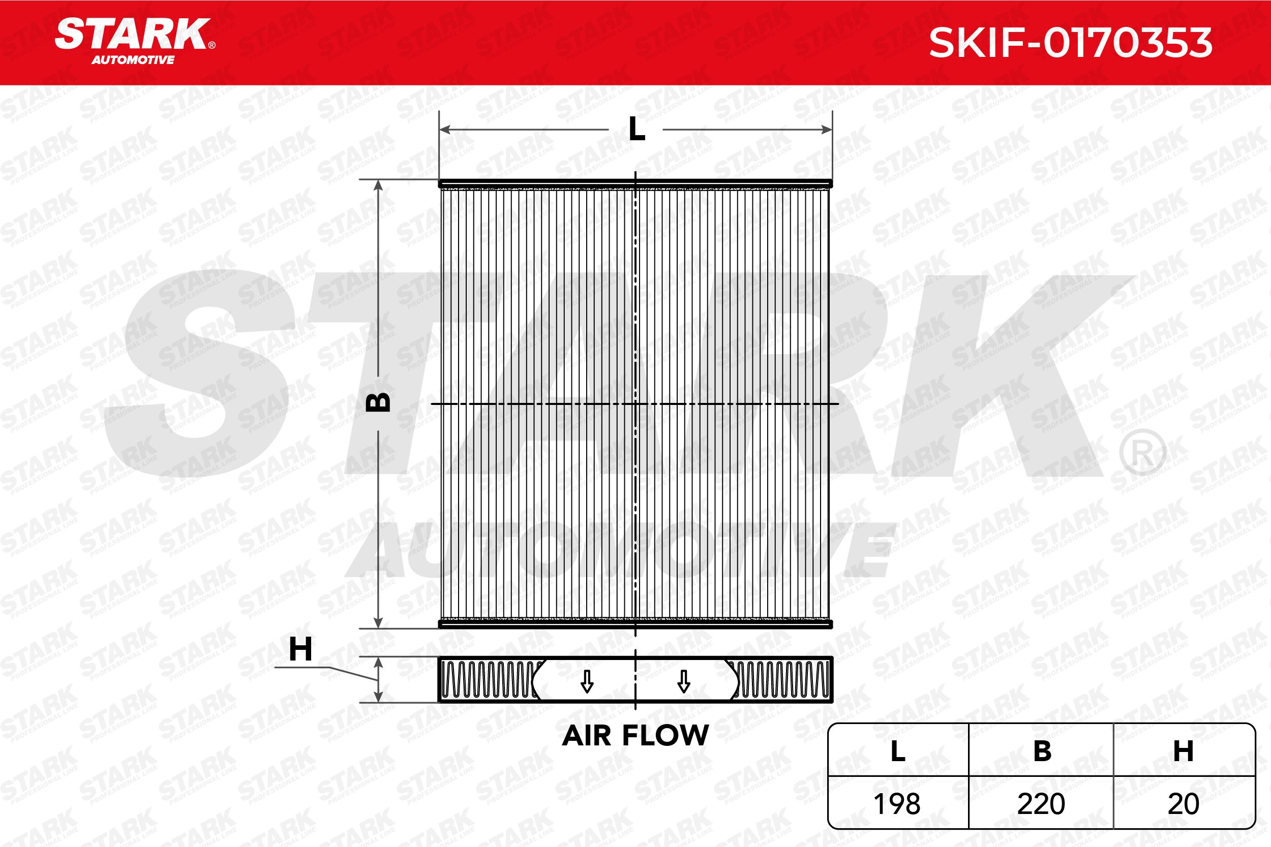 STARK Filter, Innenraumluft SKIF-0170353
