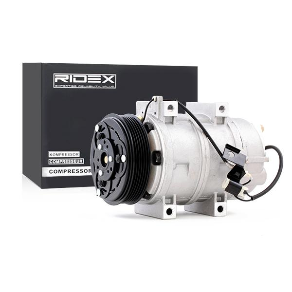 RIDEX: Original Kompressor 447K0021 (Riemenscheiben-Ø: 119mm, Anzahl der Rillen: 6)