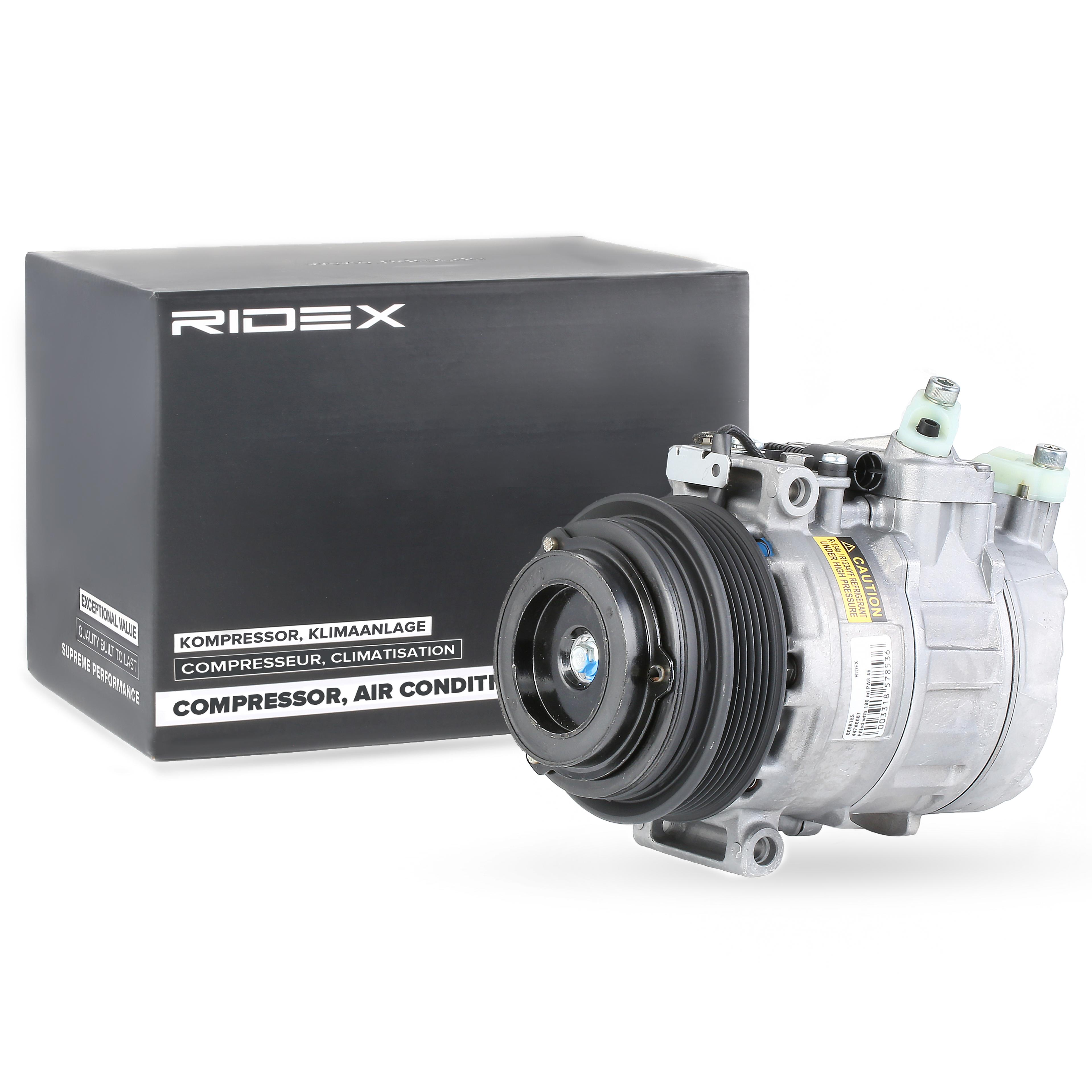 447K0087 Kältemittelkompressor RIDEX Erfahrung
