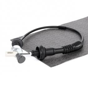 Kupplungsbet/ätigung Kupplungsseilzug Kupplungsseil RIDEX 478S0028 Seilzug